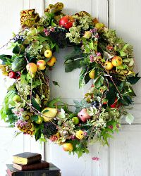 Luxurious Large French Provence Country Romance Wreath